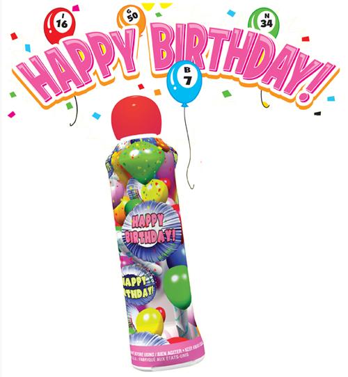 Happy Birthday Bingo Ink Dauber | Cactus ...