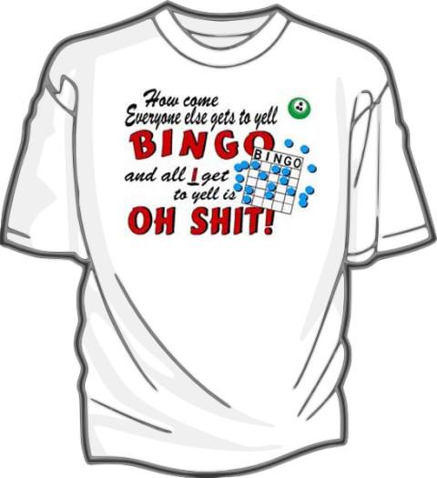 Bingo T Shirts And Sweatshirts At Cactus Get Now