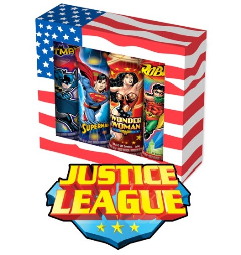 Justice League Four Pack Gift Set